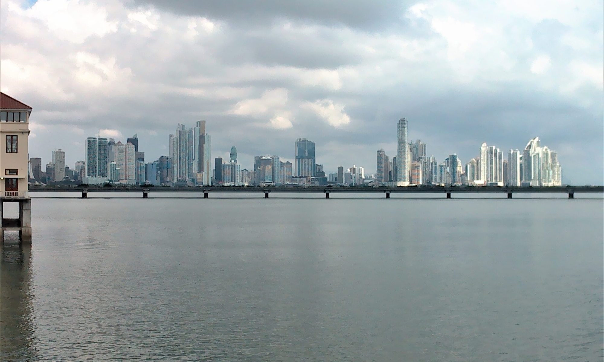 K in Motion Travel Blog. Party in Panama. Panama City Skyline