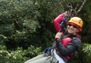 K in Motion Travel Blog. Mountain Adventures in Costa Rica. Monteverde Adventure Park Canopy Zipline