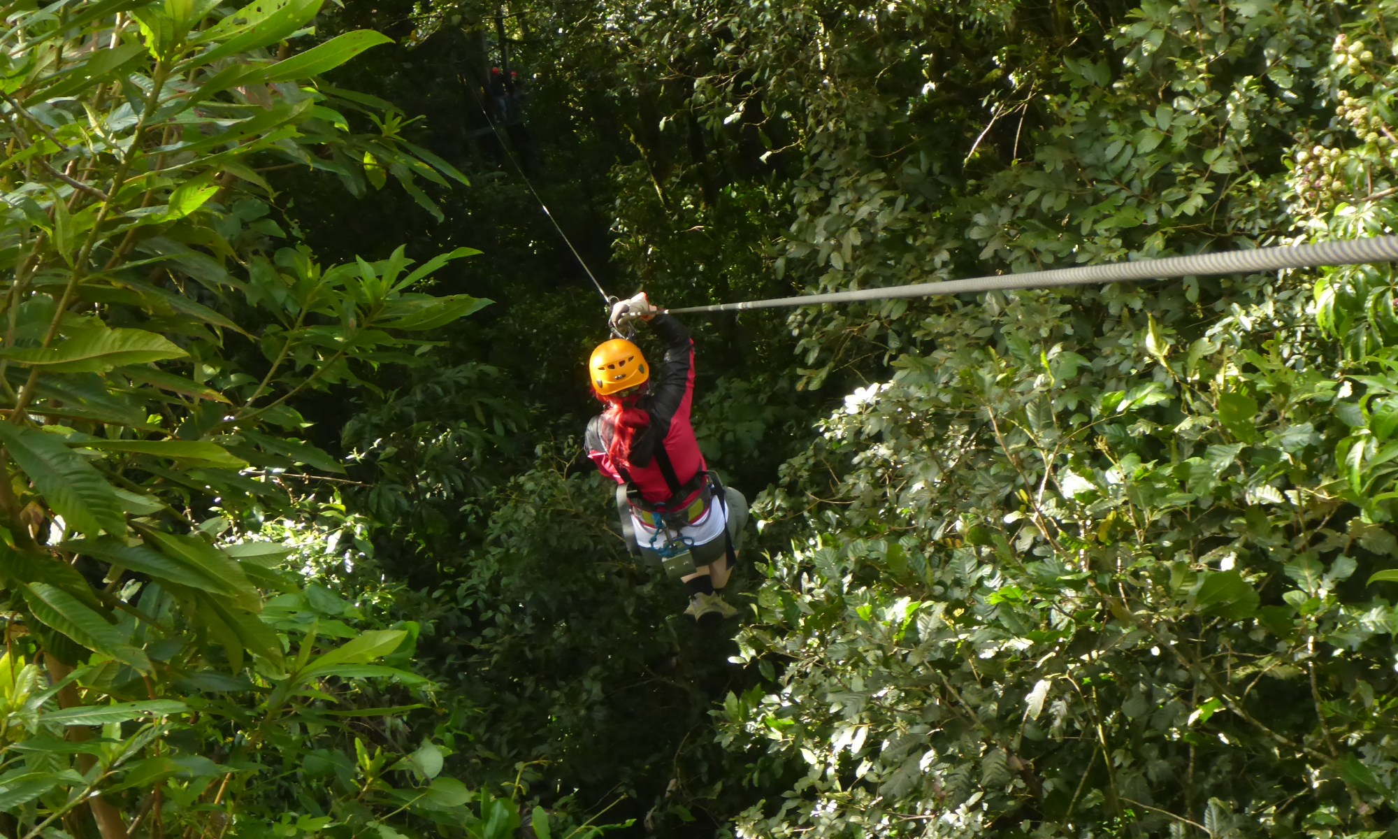 K in Motion Travel Blog. Mountain Adventures in Costa Rica. 100% Aventura Ziplining