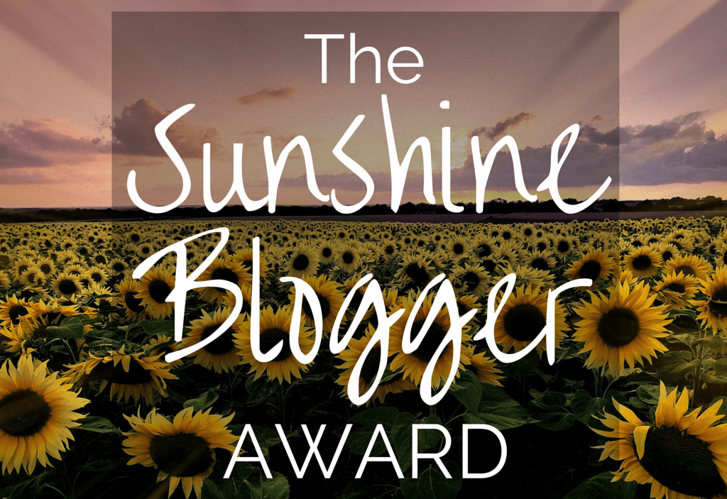 K in Motion Travel Blog. Sunshine Blogger Award Nomination