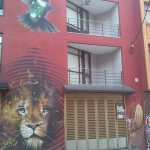 K in Motion Travel Blog. Contemporary Colombia Street Art. Bogota Big Cat