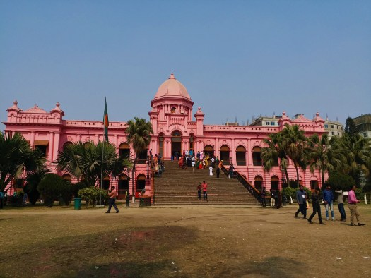 K in Motion Travel Blog. Hospitality in Bangladesh. Old City Pink Fort