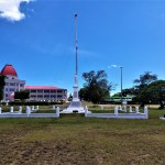 K in Motion Travel Blog. Tantalisingly Tropical Tonga. War Memorial