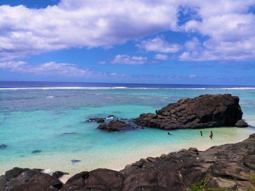 K in Motion Travel Blog. The Captivating Cook Islands. Rarotonga Rocky Coastal View