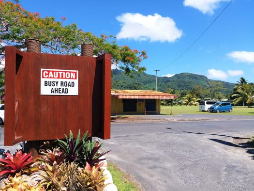 K in Motion Travel Blog. The Captivating Cook Islands. Rarotonga Humour