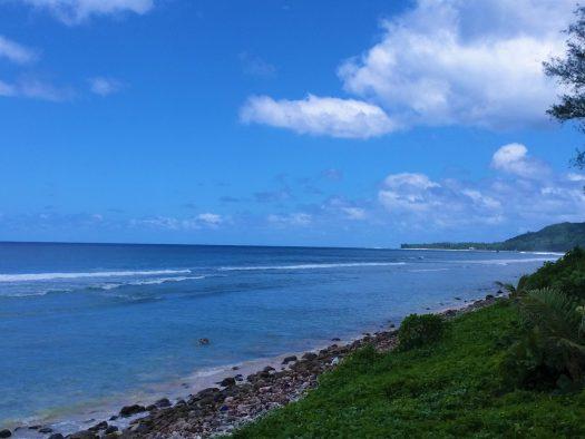 K in Motion Travel Blog. The Captivating Cook Islands. Coastal Views in Rarotonga