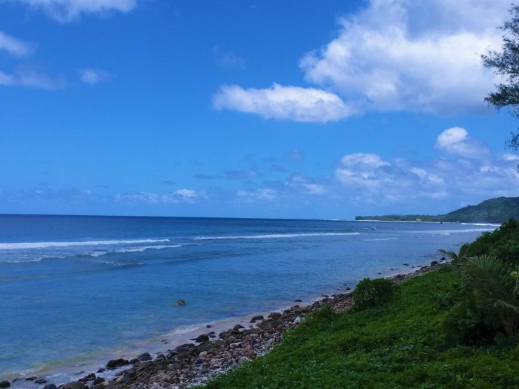 K in Motion Travel Blog. The Captivating Cook Islands. Coastal Views in Rarotonga