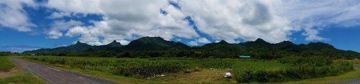 K in Motion Travel Blog. The Captivating Cook Islands. Rarotonga's Interior
