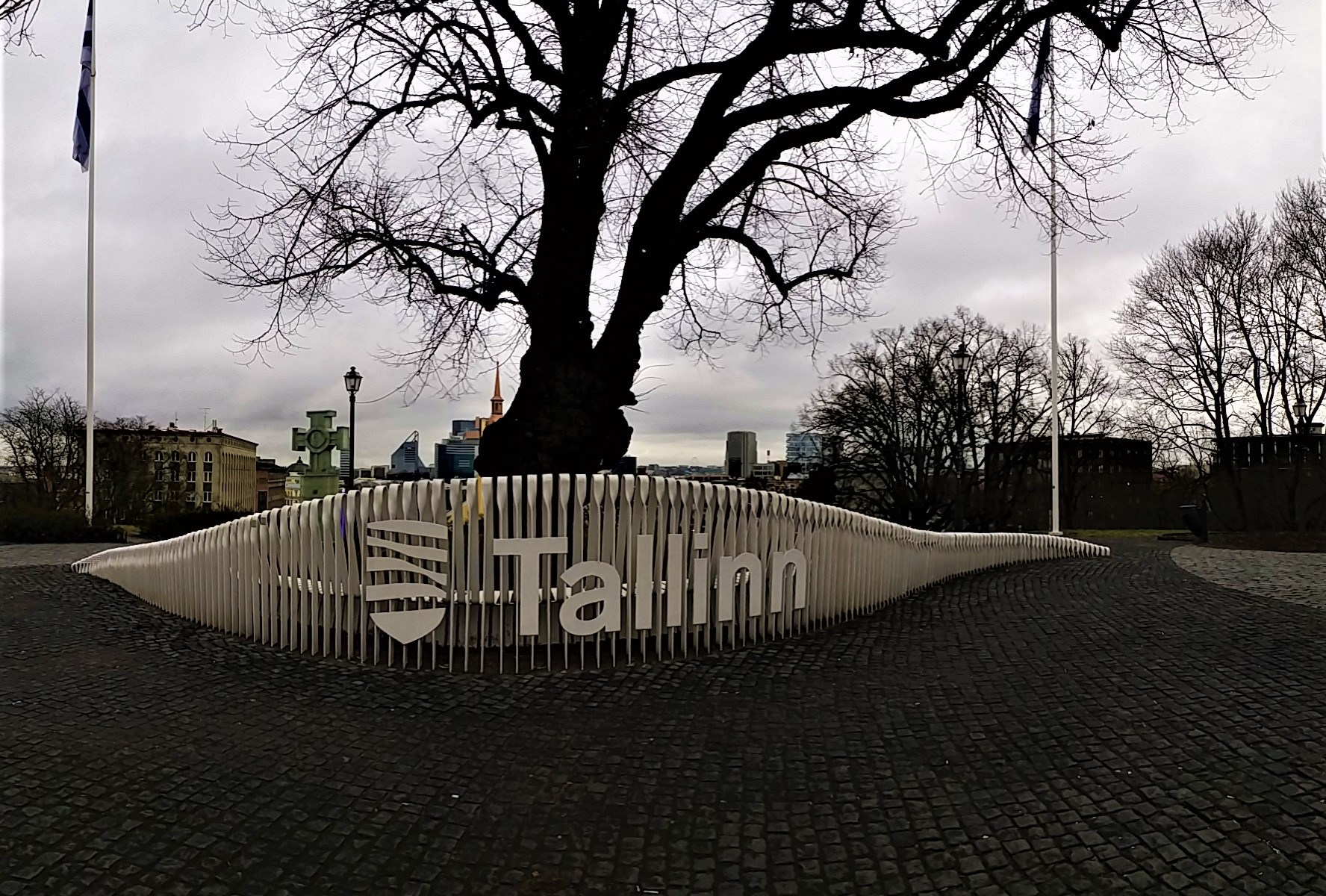 K in Motion Travel Blog. Discover Old and New Tallinn. Komandandi Garden Above Freedom Square