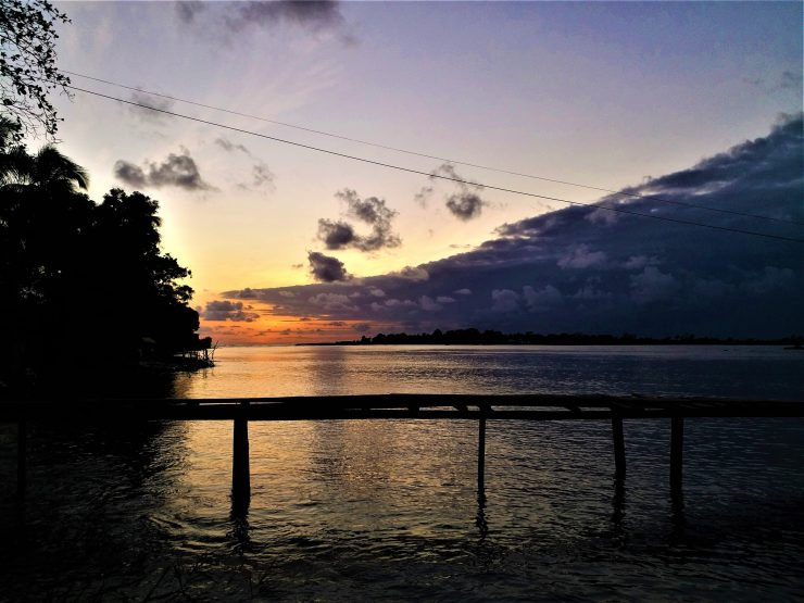 K in Motion Travel Blog. Around the World in Sunsets. Monrovia, Liberia
