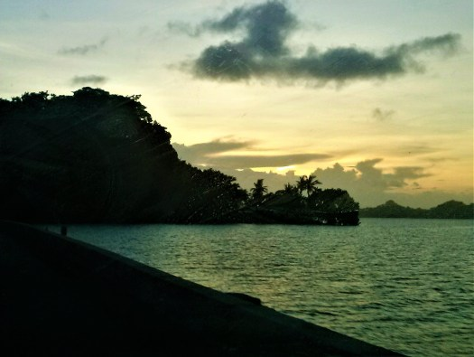K in Motion Travel Blog. Around the World in Sunsets. Koror, Palau