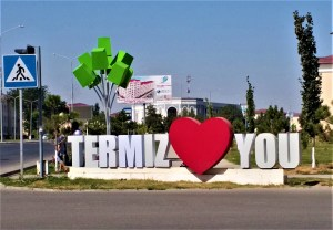 K in Motion Travel Blog. Amusingly Funny Signs Around the World. Termiz Loves You Sign