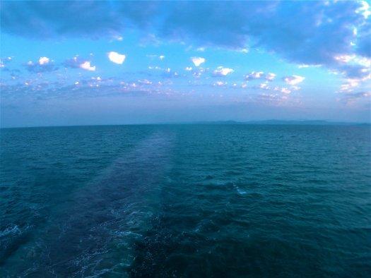 K in Motion Travel Blog. Mesmerising Lakes Around the World. Caspian Sea Between Turkmenistan and Azerbaijan