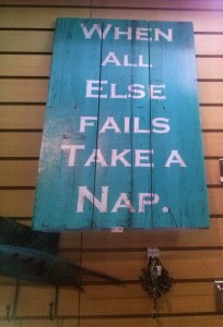 K in Motion Travel Blog. Amusingly Funny Signs Around the World. Palau Nap Sign