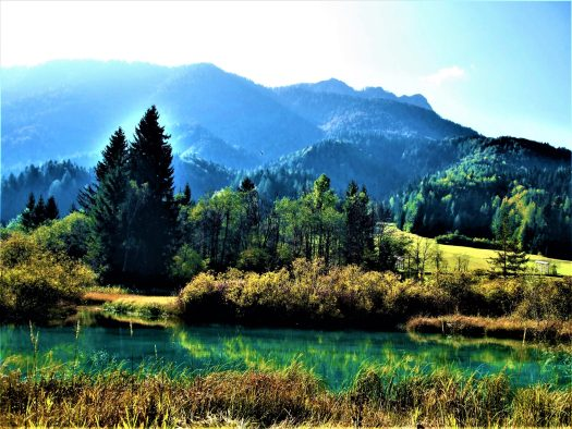 K in Motion Travel Blog. Mesmerising Lakes Around the World. Green Lake in Slovenia
