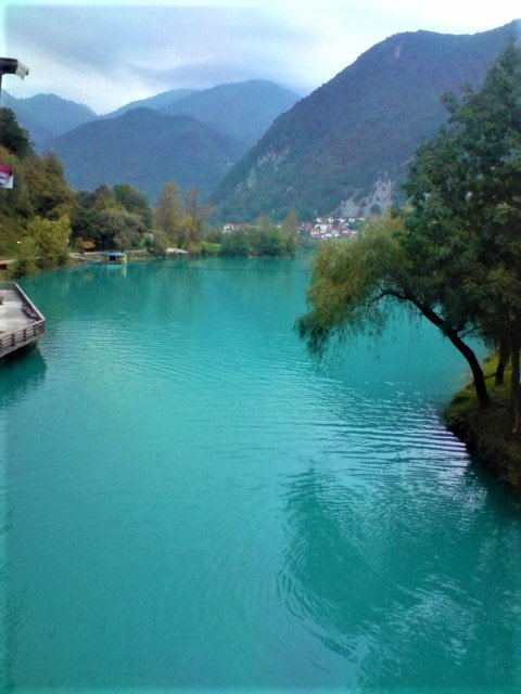 K in Motion Travel Blog. Mesmerising Lakes Around the World. Glacial Lake in Slovenian Alps