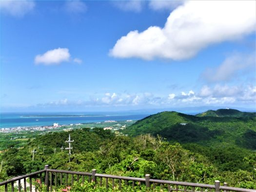 K in Motion Travel Blog. Scenic Cruise to Okinawa. View From Banna Park Lookout on Ishigaki Island
