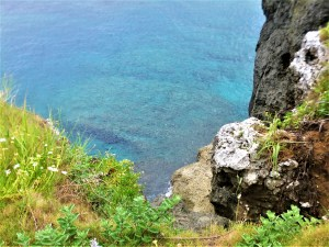 K in Motion Travel Blog. Scenic Cruise to Okinawa. View From Elephant Rock