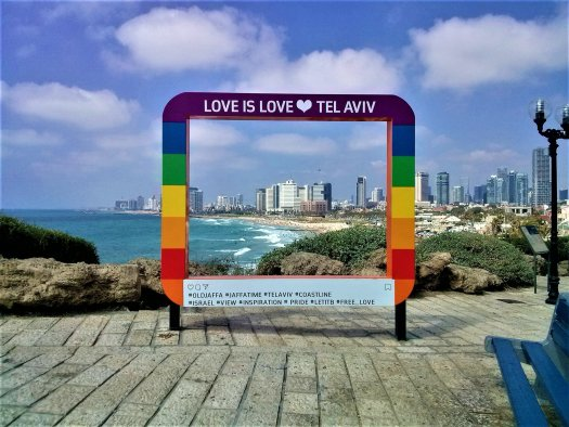 K in Motion Travel Blog. Interesting Sites in Southern Israel. Pride Photo Frame