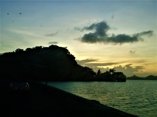 K in Motion Travel Blog. The Untouched Pacific Paradise of Palau. Sunset on the Way Back