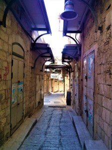 K in Motion Travel Blog. Religious Sites and Nature of Northern Israel. Nazareth Old Town Passage