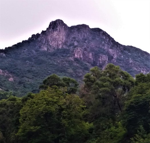 K in Motion Travel Blog. Ups and Downs of the Planeterra Trek Challenge. Lion Rock from Kowloon
