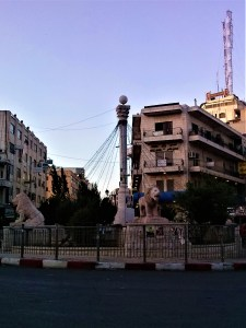 K in Motion Travel Blog. What Is It Really Like in Palestine. Quiet Town Centre Ramallah