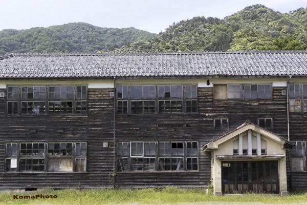 旧小浜市立堅海小学校(1991 閉校)