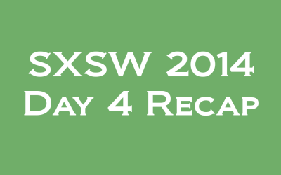 SXSW: Day 4 – Sheriffs, Senators, and Spartans – Oh My!