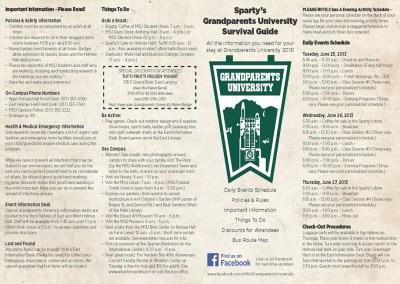 Grandparents University 2013 Collaterals