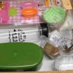 【後編】キッチンの背面収納:引き出しにお弁当グッズ * カップ類をかさばらずコンパクトに収納するには