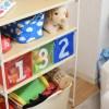 子供のおもちゃ収納にダイソーの大人気な収納ボックスを♪ シンプルで軽くて使いやすい!