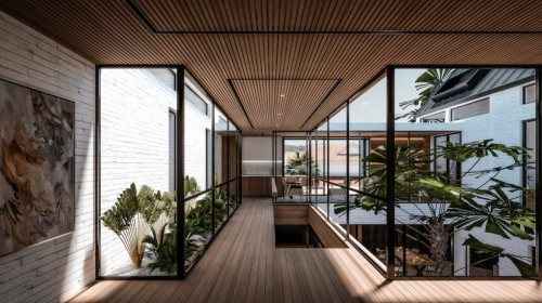8. KTDS_2019_Courtyard House_Bridge
