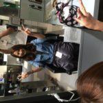 湘南の美容師さんが髪の毛を切りに来ました