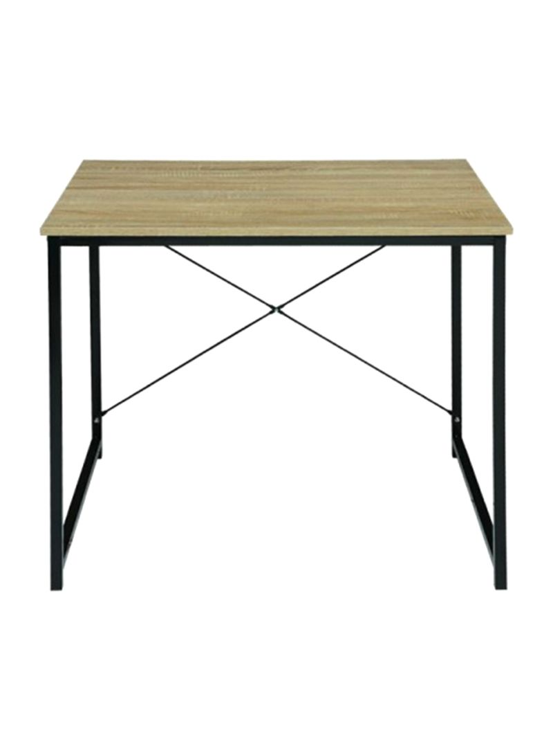 Shop Pan Emirates Weltech Office Desk Brown Black 60x80x70centimeter Online In Dubai Abu Dhabi And All Uae