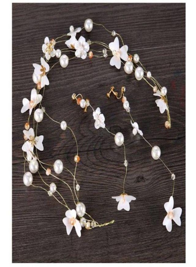 shop generic bride hair accessories crystal hair vine earrings sets headband wedding hair comb evening party hair piece online in dubai, abu dhabi and