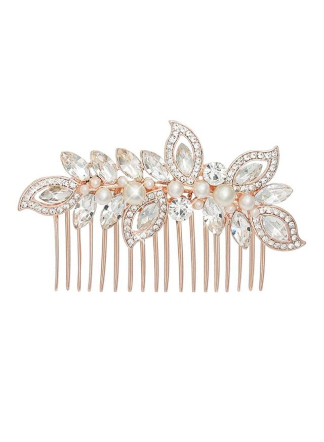 shop aukmla decorative bridal accessories with hair clip white online in dubai, abu dhabi and all uae