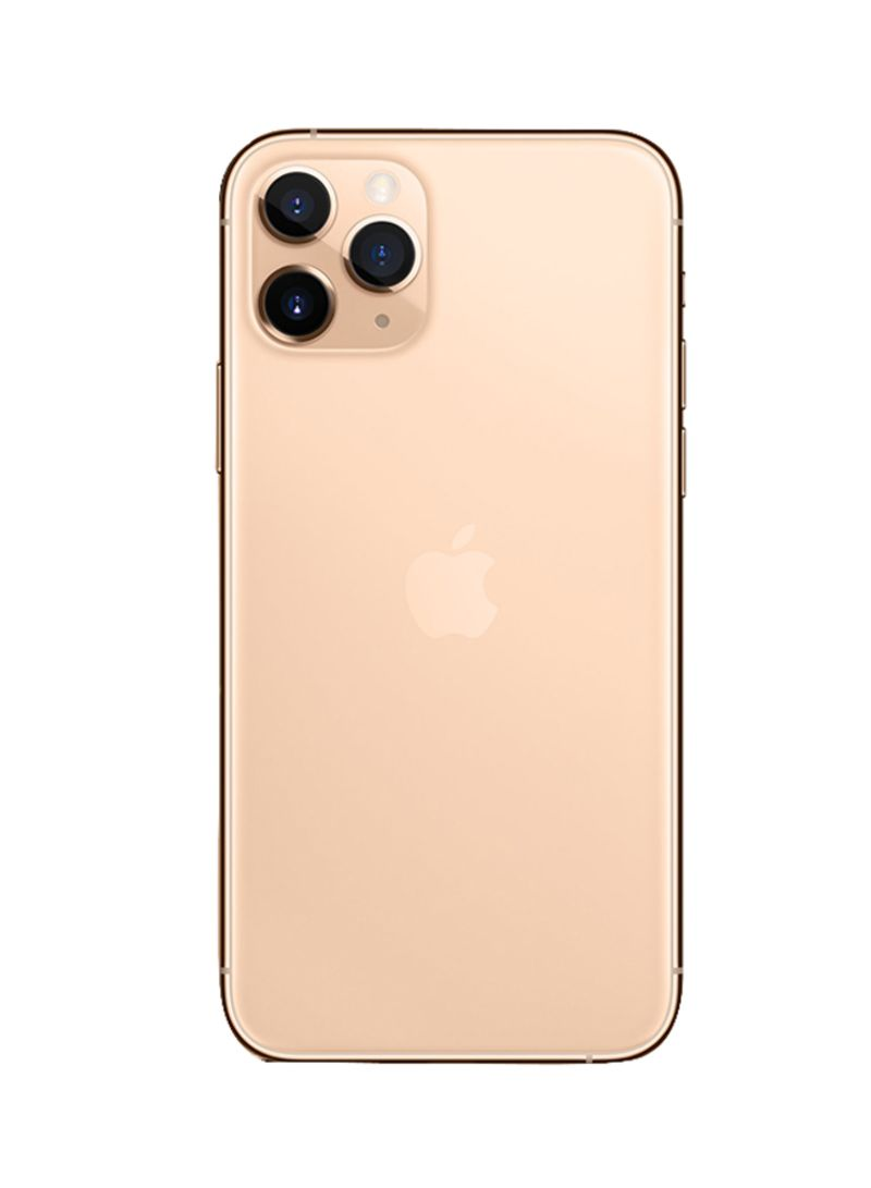 Shop Apple Iphone 11 Pro Max With Facetime Gold 512gb 4g Lte Ksa