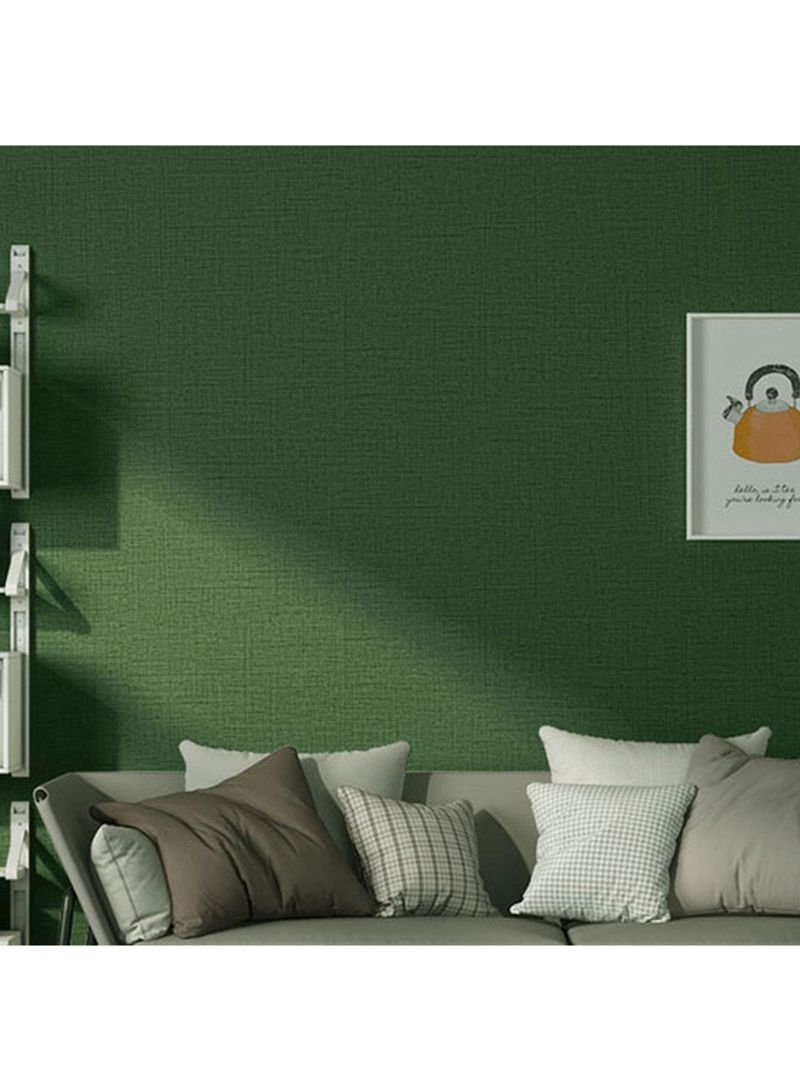 Shop Solid Color Self Adhesive Wallpaper Green 10x0 6meter Online In Dubai Abu Dhabi And All Uae