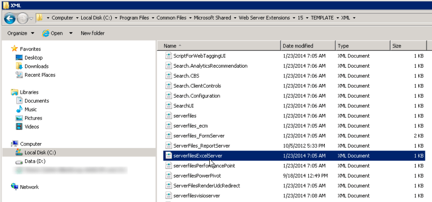 excel will not open network files