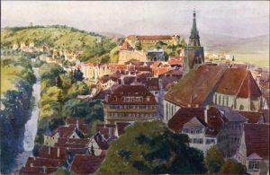 Ansichtskarte-Ansichtskarte-Tuebingen-Stadt-vom-Oesterberg-1922