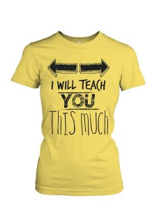 Tshirts for Teachers - This Much
