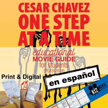 Cesar Chavez Guía de película en Español / Cesar Chavez Movie Guide in Spanish