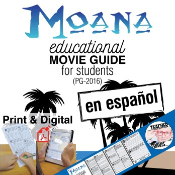 Moana Movie Guide En Espanol Cover
