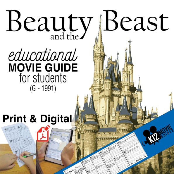Beauty and the Beast Movie Guide (G - 1991) - Cover