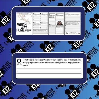 Which Way Home Documentary Movie Guide   Questions   Worksheet (2009) Sample