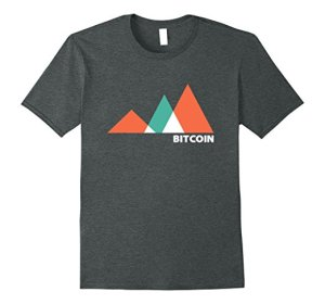 Bitcoin Tshirt Charting Up