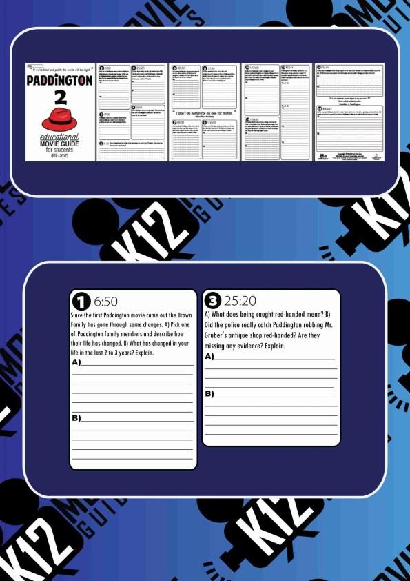 Paddington 2 Movie Guide Questions Sample