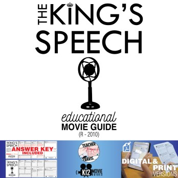 The King's Speech Movie Guide | Questions | Worksheet (R - 2010)