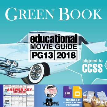 Green Book Movie Guide | Questions | Worksheet (PG13 - 2018) Cover